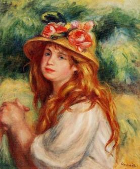 Blond in a Straw Hat